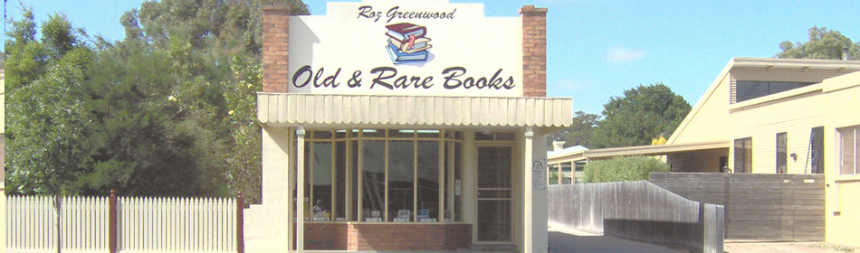 Roz Greenwood Old and Rare Books