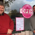 Hugh from SGSC and Chris from Little Koi 3 - Open for business as unusual April 30 2020 (1)