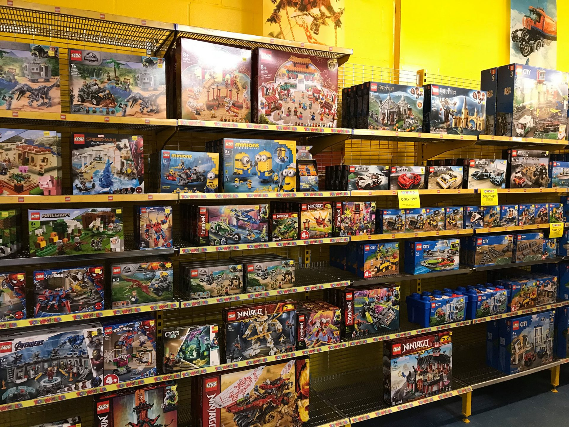 Toyworld Lego Display