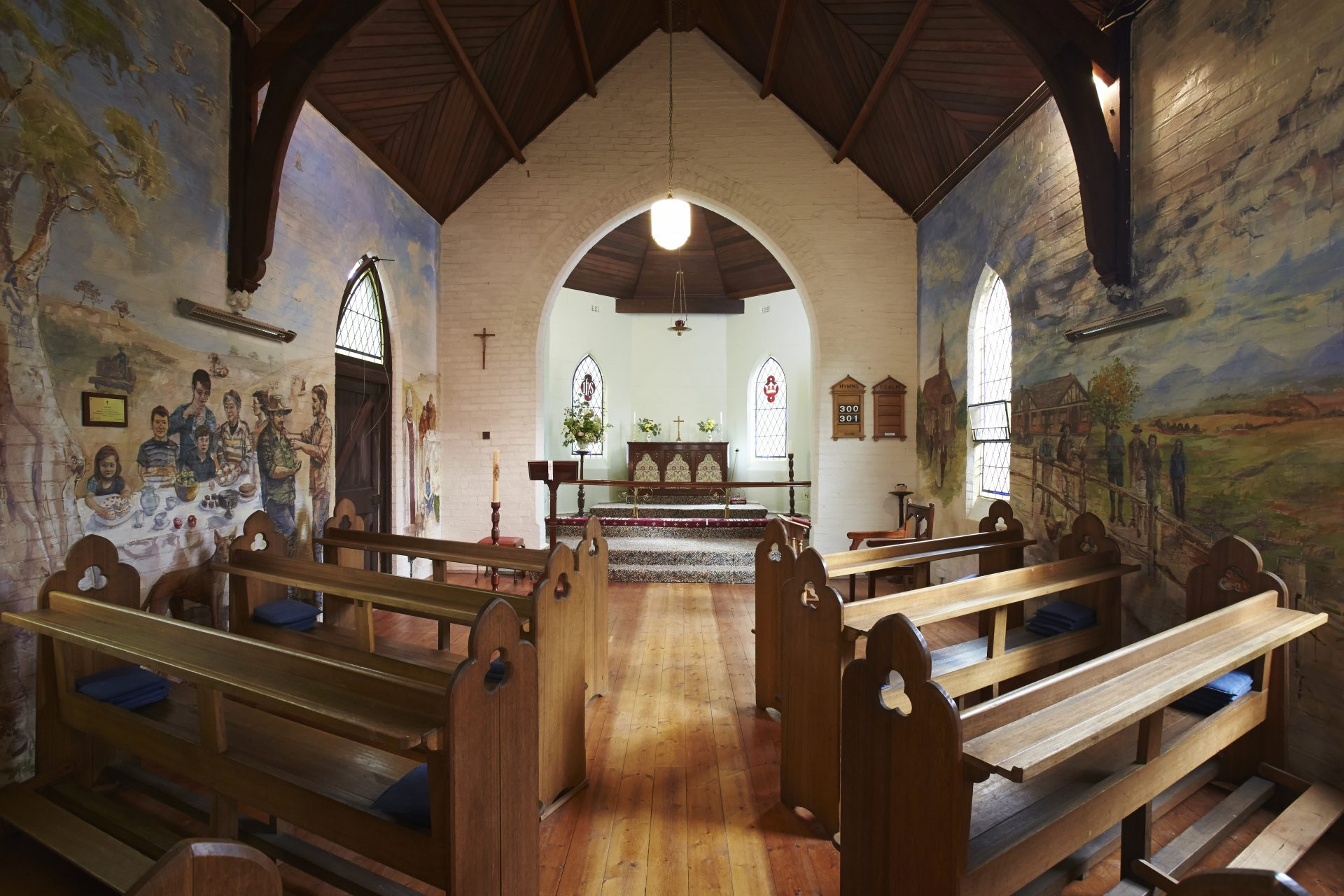 Glenthompson Anglican Church Mural